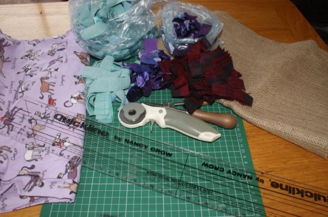 Preparing materials