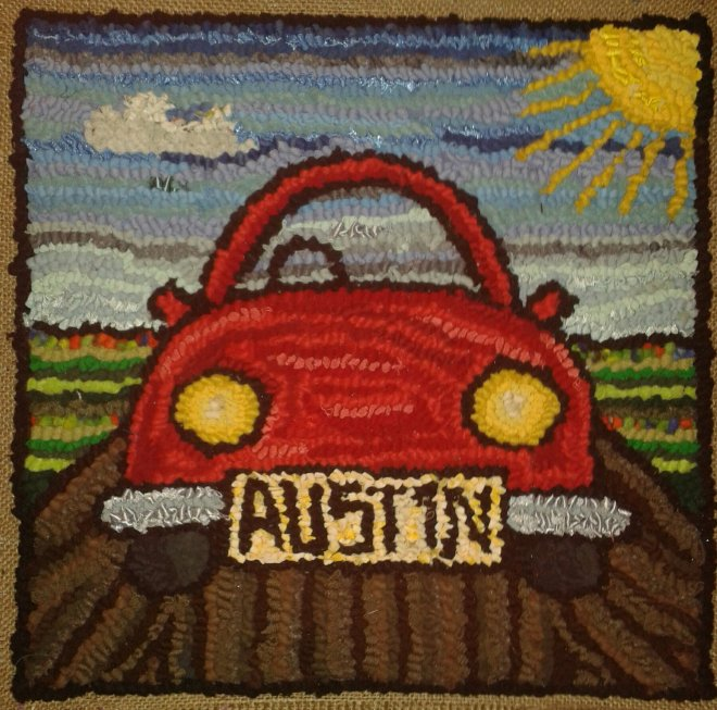 Austin's cushion cover (commission)