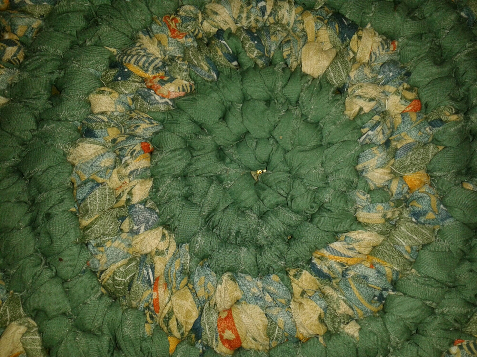 Image.   Tagged Crochet Rag Rug ...